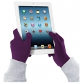 Cellularline Gloves for Touch Screen, S/M - Violet (TOUCHGLOVESSMV)